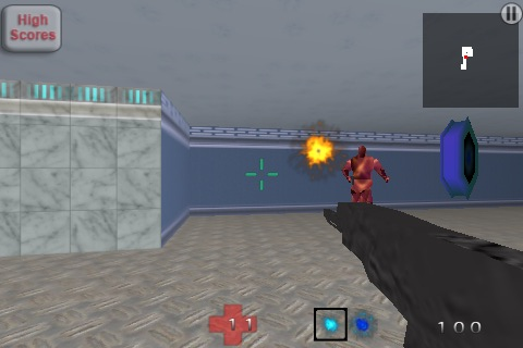 Screenshot AI Wars FPS