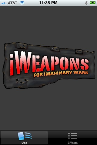 Screenshot iWeapons