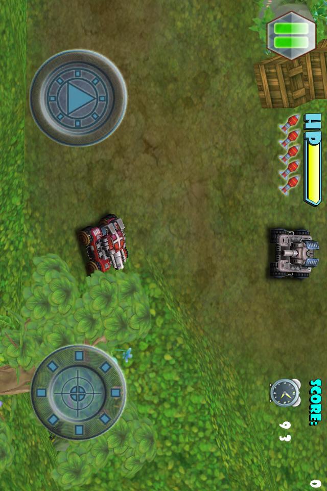 Screenshot 3D TANK GO LITE