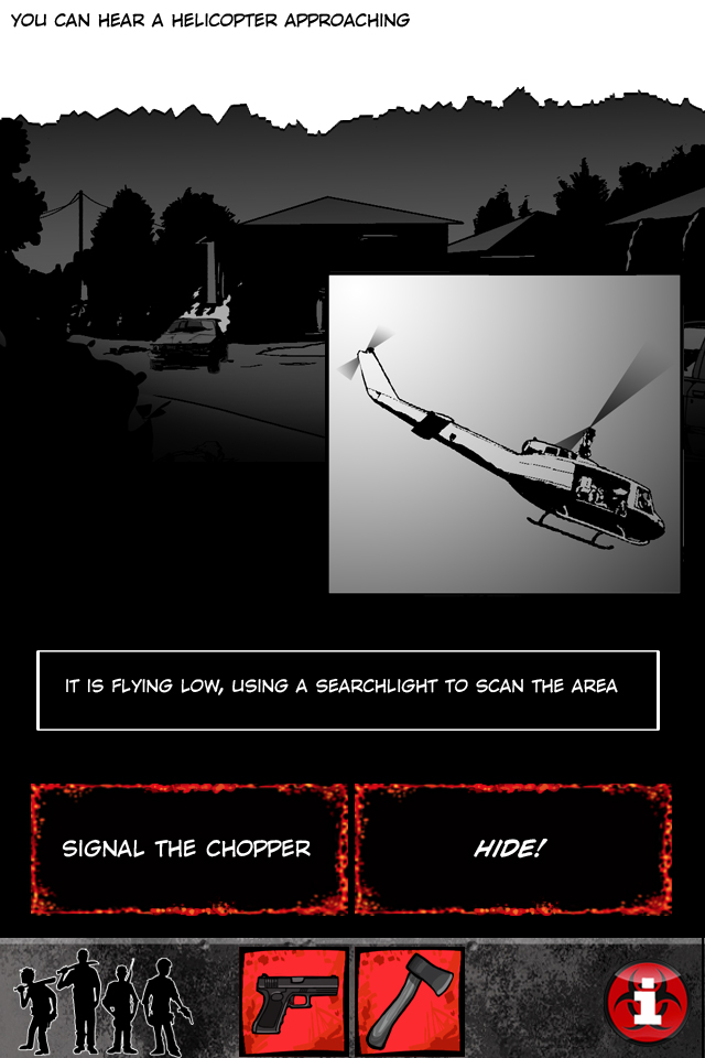 ZDAY Survival Simulator iPhone, iPad Screenshot